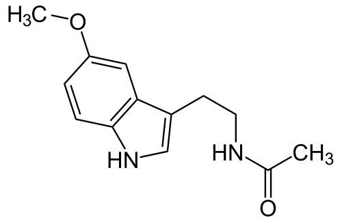 Melatonin chemical structure