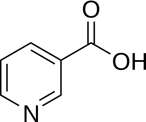 Vitamin B3 chemical structure